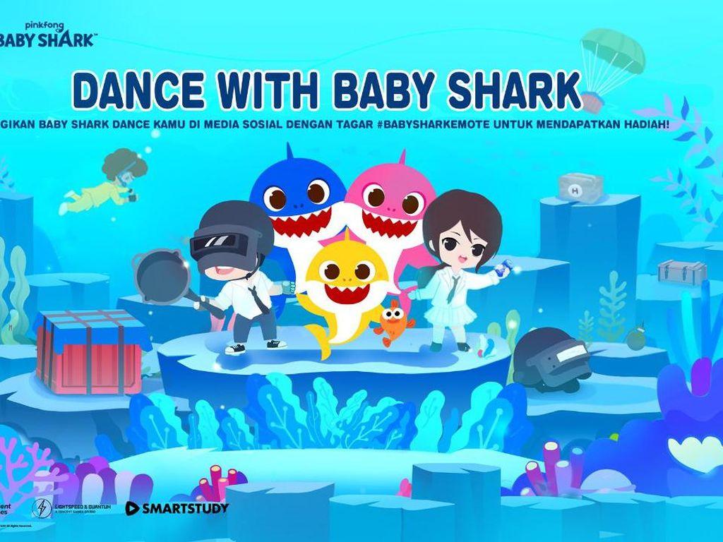 Menggemaskan, Main PUBG Mobile Bisa Pakai Baju Baby Shark