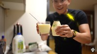 Tanpa Pisang, YouTuber Korea Reomit Buktikan Bisa Bikin Susu Rasa Pisang