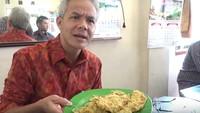 Ganjar Pranowo Hari Ini Berusia 53 Tahun, Ini Momen Serunya Saat Kulineran
