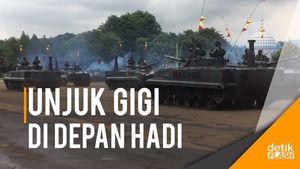 Sowan ke Markas Marinir, Panglima TNI Disuguhkan Atraksi Keren