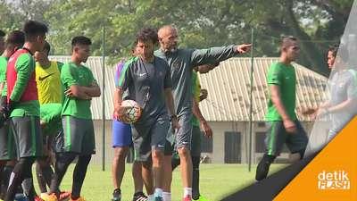 Mengintip Persiapan Timnas U-22 Lawan Myanmar Nanti