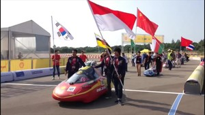 Tim Indonesia Berjaya di Shell Eco Marathon Asia 2017