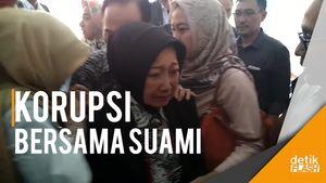 Divonis Bersalah Lakukan Korupsi, Eks Wali Kota Cimahi Mewek
