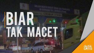 Resmi! Jasa Marga Tiadakan Transaksi di Gerbang Tol Cibubur Utama