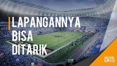 Begini Canggihnya Stadion Baru Tottenham Hotspur