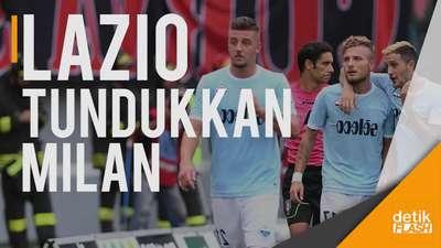Lazio Raih Kemenangan Telak Atas Milan