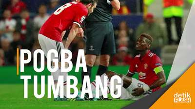 Mourinho Belum Tahu Cedera Pogba