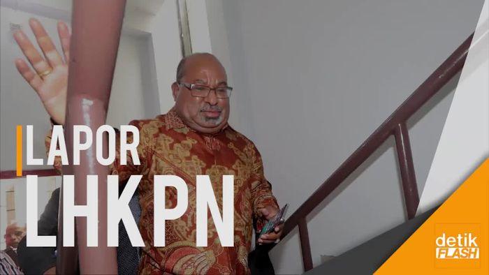 Ke KPK, Gubernur Papua Dimintai Klarifikasi LHKPN