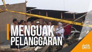 DPR Panggil Pemkab Tangerang, Usut Ledakan Pabrik Kembang Api