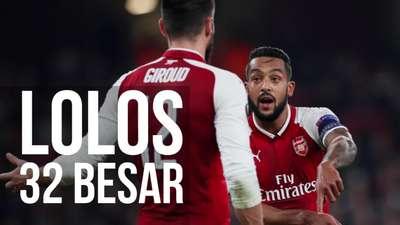 Pastikan Lolos, Arsenal Masih Incar Juara Grup