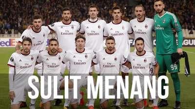 Milan Sedang Kehilangan Karakter