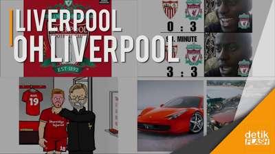 Kasihan, Liverpool Kembali jadi Bahan Olok-olokan