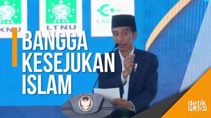 Presiden Ungkap Kesejukan Islam di Indonesia