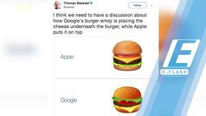 Ramai Diprotes Netizen, Google Perbaiki Emoji Cheese Burger