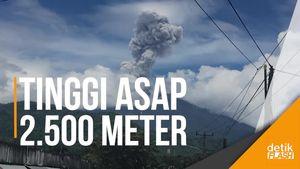 Gunung Agung Kembali Erupsi, Semburkan Asap Tebal ke Udara