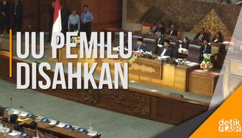 Setya Novanto Sahkan UU Pemilu dengan Presidential Threshold 20%