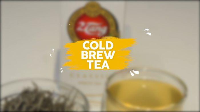 Tips Membuat Cold Brew Tea