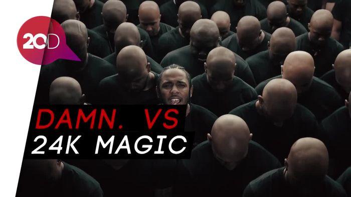 Kendrick Lamar atau Bruno Mars, Siapa Peraih Album of the Year?