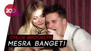 Momen Kemesraan Brooklyn Beckham di Ultah Chloe Moretz