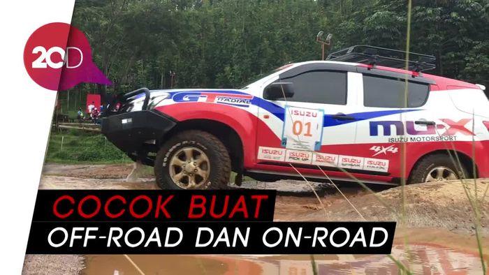 Jajal Ketangguhan Isuzu mu-X 4X4 di Medan Off-Road