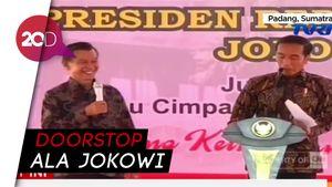 Momen Kocak Ketika Jokowi Jadi Wartawan