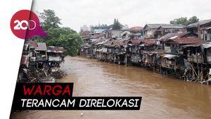Normalisasi Sungai Ciliwung Terkendala Pembebasan Lahan!