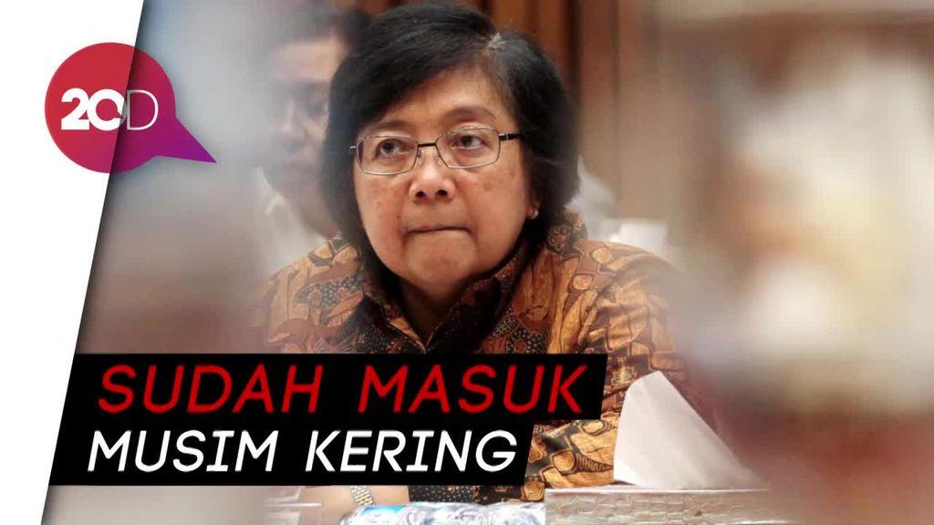 Siti Nurbaya Minta Waspada Kebakaran Hutan