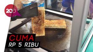 Icip-icip Roti Bakar Aneka Rasa yang Murah Meriah