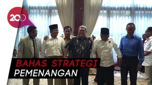 Partai Pendukung Sudrajat-Syaikhu Rapat Tertutup di Rumah Prabowo