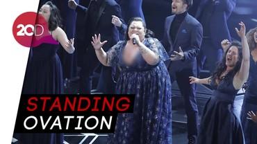 Keren! Penampilan Keala Settle Nyanyikan This is Me di Oscar 2018
