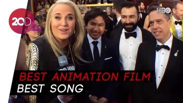 Eksklusif! Ungkapan Bahagia Sutradara Coco di Oscar 2018