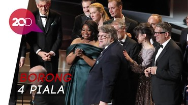 The Shape of Water Terbaik, Ini Daftar Lengkap Pemenang Oscar 2018