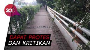 Jurus Sandi untuk Muluskan Proyek Trotoar Sudirman