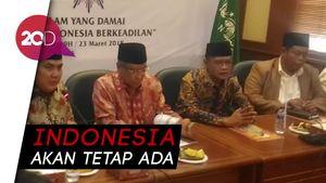 NU-Muhammadiyah Tak Cemas akan Masa Depan Bangsa Indonesia