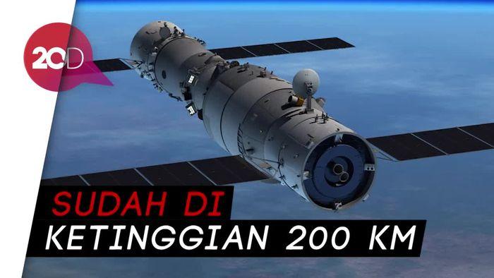 LAPAN Perkirakan Tiangong-1 Jatuh Awal April