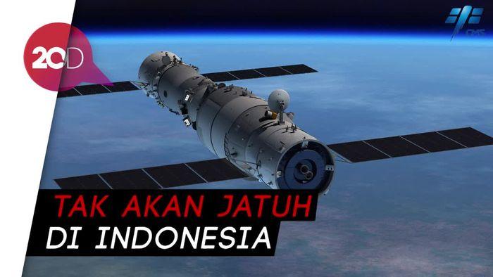 Tiangong-1 Jatuh Hari Ini, Indonesia Dinyatakan Aman