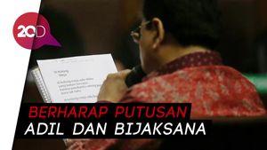 Nasibnya di Ujung Tanduk, Novanto Harap Hakim Bijaksana Memutus