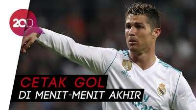 Ronaldo Selamatkan Madrid dari Kekalahan