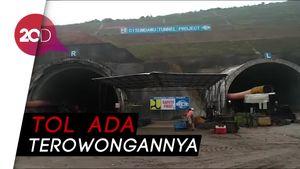 Hujan-hujanan, Menteri PUPR Tinjau Tol Cisumdawu
