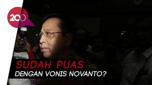 KPK soal Vonis Novanto: Kami Mungkin Tidak Banding