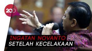 Curhat Novanto Pingsan dan Muntah Pasca-Kecelakaan