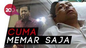 Novanto Enggan Sebut Benjolannya Sebesar Bakpao