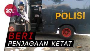 600 Polisi Siaga di Cilacap Sambut Napi Terorisme