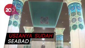 Ada di Kawasan Pecinan, Masjid di Makassar Ini Punya Pohon Kurma