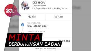 Driver Go-Car Lakukan Pelecehan Seksual di Bali