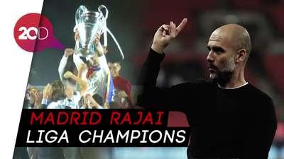 Langka Terjadi, Pujian Guardiola untuk Real Madrid