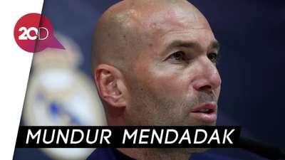 Zinedine Zidane Tinggalkan Real Madrid