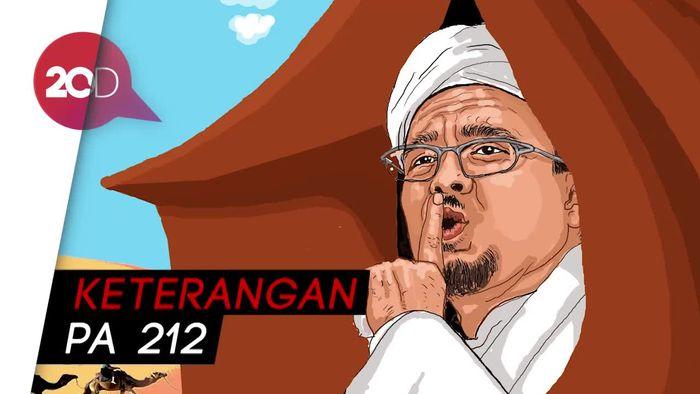 Kasus Dugaan Chat Porno Habib Rizieq Disetop?