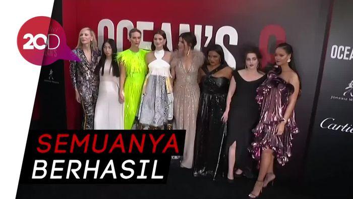 Keseruan Para Bintang Wanita di Gala Premiere Oceans 8