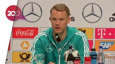 Neuer: Jerman Tanpa Keberanian dan Kepercayaan Diri